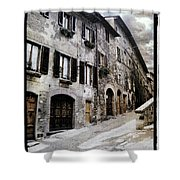 North Italy Shower Curtain by Mauro Celotti