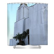 Oakland California Temple . The Church Of Jesus Christ Of Latter-day Saints . 7d11335 Shower Curtain by Wingsdomain Art and Photography