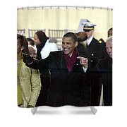 OBAMA INAGURATION, 2009 Shower Curtain by Granger