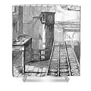 Observatory: Chronometer Shower Curtain by Granger