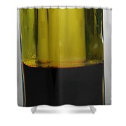 Oil And Vinegar Shower Curtain by Photo Researchers