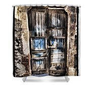 Old Door Shower Curtain by Mauro Celotti