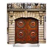 Old Doors Shower Curtain by Elena Elisseeva