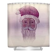 Old Saint Nicholas Shower Curtain by David Dehner