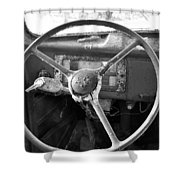 Old Truck Shower Curtain by Todd Hostetter