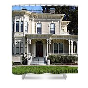 Old Victorian Camron-Stanford House . Oakland California . 7D13440 Shower Curtain by Wingsdomain Art and Photography