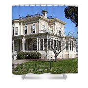 Old Victorian Camron-Stanford House . Oakland California . 7D13445 Shower Curtain by Wingsdomain Art and Photography