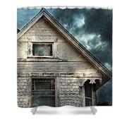 Old Victorian House Detail Shower Curtain by Jill Battaglia
