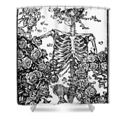 Omar Khayam: Rubaiyat Shower Curtain by Granger