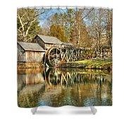 On a March Day Shower Curtain by Darren Fisher