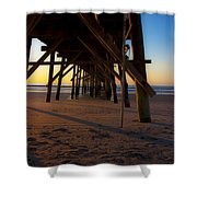 One Fine Morning Shower Curtain by Betsy C  Knapp
