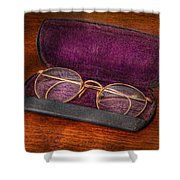 Optometry - Has anyone seen my glasses  Shower Curtain by Mike Savad