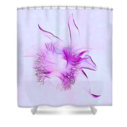 Orchid Impression Shower Curtain by Judi Bagwell