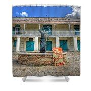 Oscar E. Henry Customs House Shower Curtain by Shelley Neff