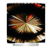 Out Of Control Shower Curtain by Kristin Elmquist