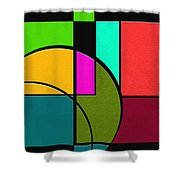 Outs Shower Curtain by Ely Arsha