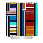 Overture Shower Curtain by Ely Arsha