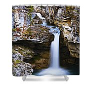 Overview Of Icefields Parkway, Beauty Shower Curtain by Yves Marcoux
