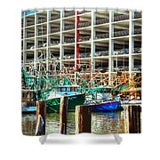 Parked Shower Curtain by Barry Jones