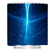 Passing Through 2 Shower Curtain by CML Brown