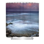 Pastel Storm Shower Curtain by Mike  Dawson