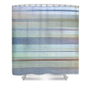 Pastel Stripes Shower Curtain by Hakon Soreide