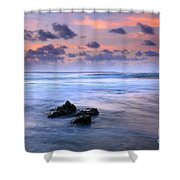 Pastel Tides Shower Curtain by Mike  Dawson