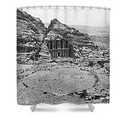 Petra, Jordan Shower Curtain by Photo Researchers