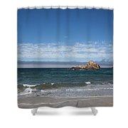 Pfeiffer Beach Shower Curtain by Ralf Kaiser