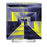 Pharaohs Dawning Shower Curtain by Tim Allen