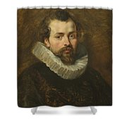 Philippe Rubens - The Artist's Brother Shower Curtain by Peter Paul Rubens