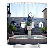 Phillies - Brighthouse Field Clearwater Shower Curtain by Bill Cannon