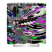 Phoenix rising . S3.S9 Shower Curtain by Wingsdomain Art and Photography
