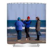 Pied Piper Shower Curtain by Al Powell Photography USA