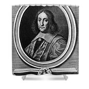 Pierre De Fermat, French Mathematician Shower Curtain by Photo Researchers, Inc.