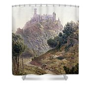 Pina Cintra Summer Home Of The King Of Portugal Shower Curtain by George Leonard Lewis