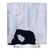 Pine Island Glacier Shower Curtain by Stocktrek Images