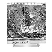 Polycarp Of Smyrna Shower Curtain by Granger