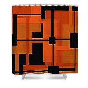 Ponder Shower Curtain by Ely Arsha