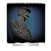 Portrait 29 American Civil War Shower Curtain by David Dehner