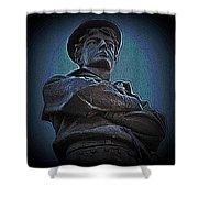Portrait 33 American Civil War Shower Curtain by David Dehner