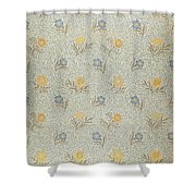 Powdered Shower Curtain by Wiliam Morris