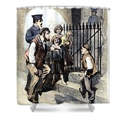 Prison: The Tombs, 1868 Shower Curtain by Granger
