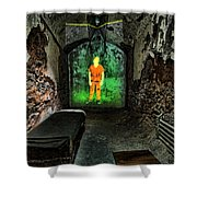 Prisoner Of The Soul Shower Curtain by Andrew Paranavitana
