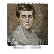 PRUDENCE CRANDALL Shower Curtain by Granger