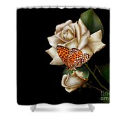 Purity Shower Curtain by Cheryl Young