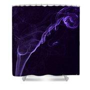 Purple Haze Shower Curtain by Paul Ward