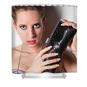 Purse Shower Curtain by Ralf Kaiser
