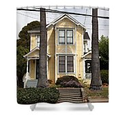 Quaint House Architecture - Benicia California - 5d18591 Shower Curtain by Wingsdomain Art and Photography