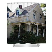 Quaint House Architecture - Benicia California - 5d18793 Shower Curtain by Wingsdomain Art and Photography